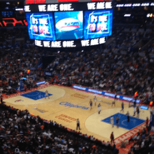 Clippers Playoff Game With Magic Johnson and Without Donald Sterling