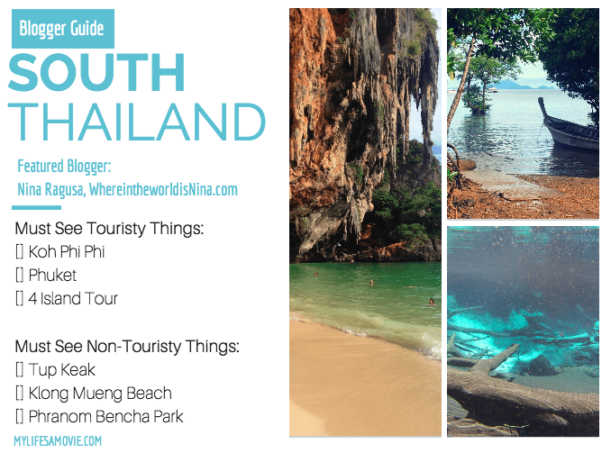 South Thailand Blogger Guide
