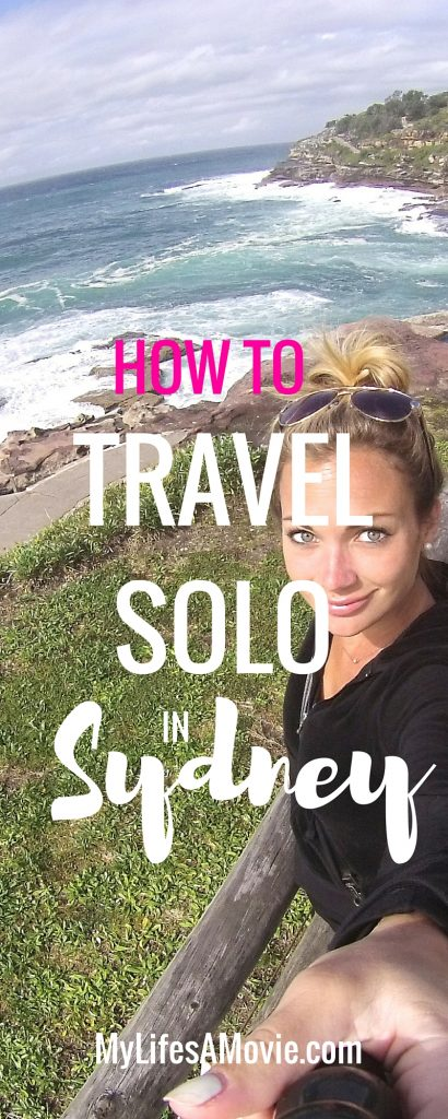How to travel solo in sydney