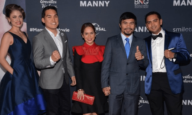 Manny Pacquiao Movie Premier