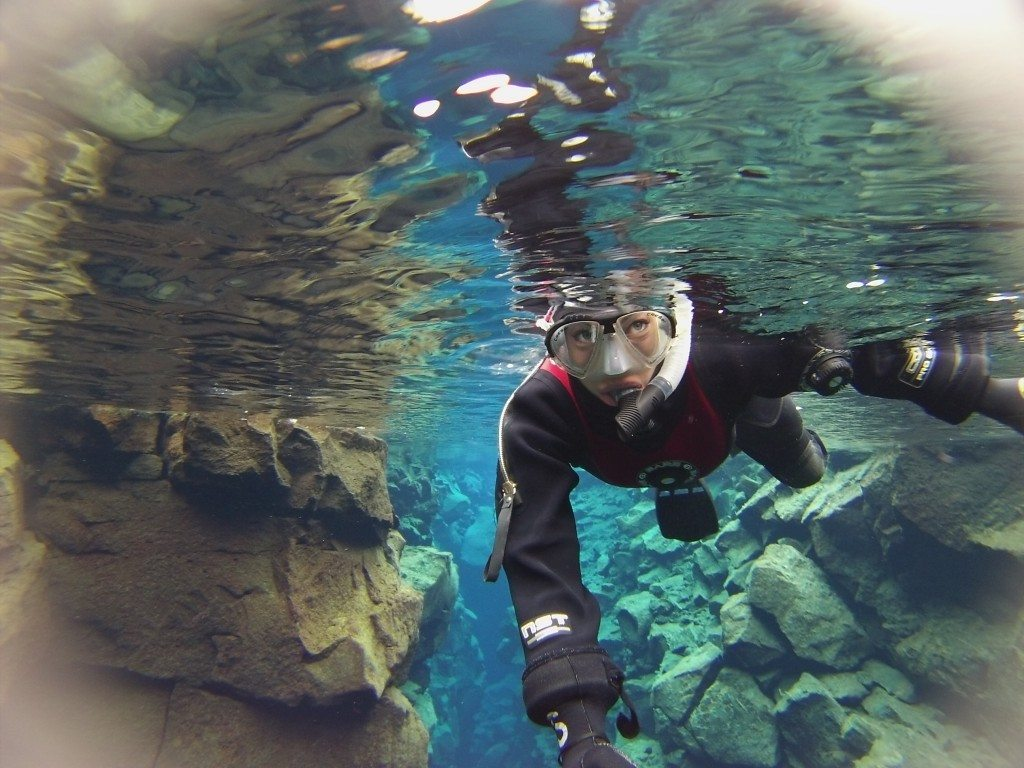 Snorkeling Between 2 Continents in Iceland Silfra Thingvellir