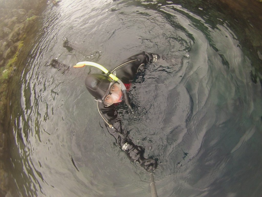 Snorkeling Between 2 Continents in Iceland