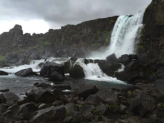 Top 10 Mind Blowing Sites to See in Iceland öxarárfoss waterfall