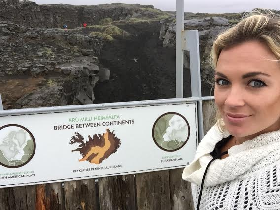 Top 10 Mind Blowing Sites to See in Iceland Bridge Between Two Continents Reykjanes