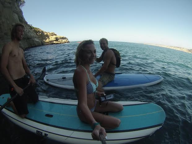 My cool paddleboard tour guides