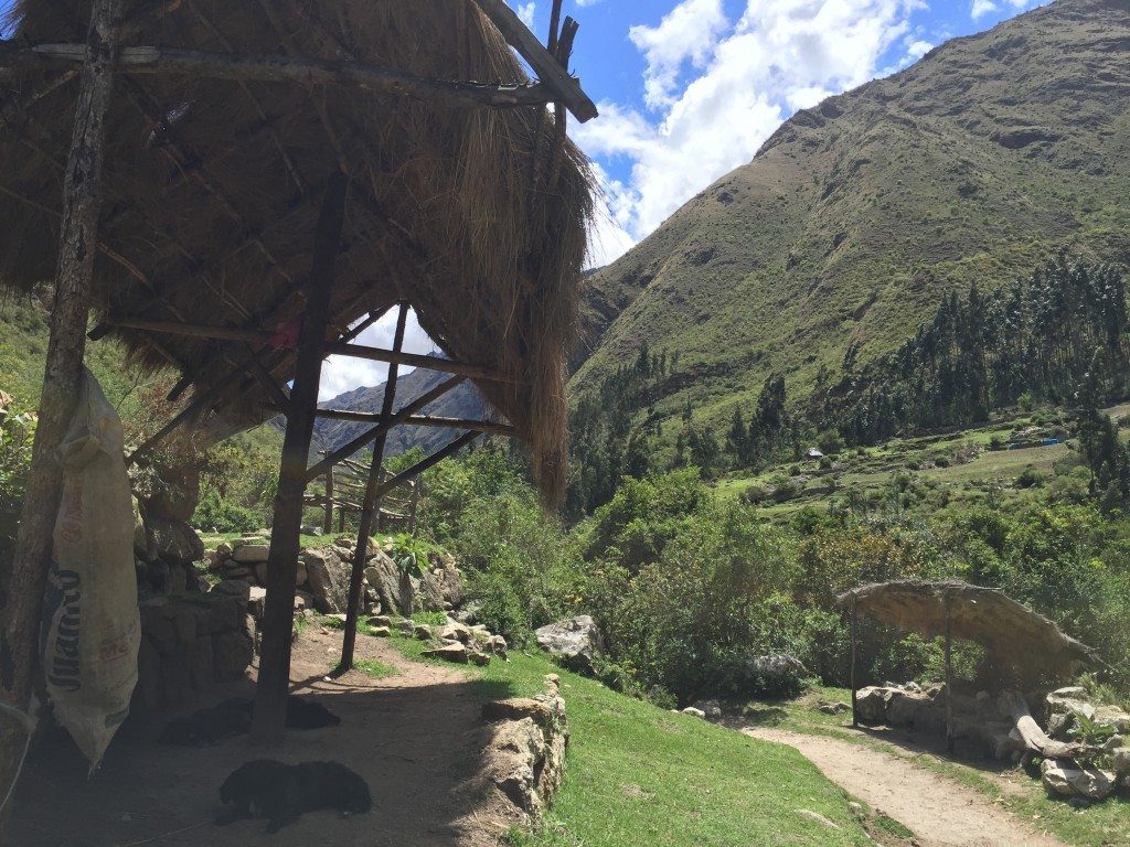 There aren't many, but still a few Incas that live near the beginning of the Inca Trail