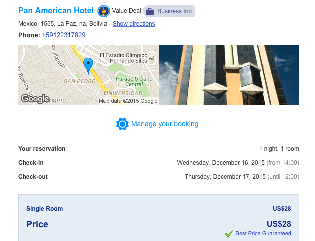 Almost as cheap as a hostel, plus free cancellation!