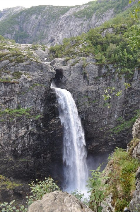 Manafossen Falls15 Unique Places in Europe Suggested by Instagram Followers
