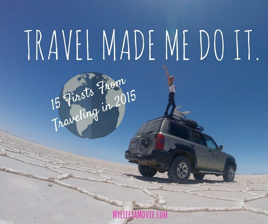 Travel Made Me Do It.