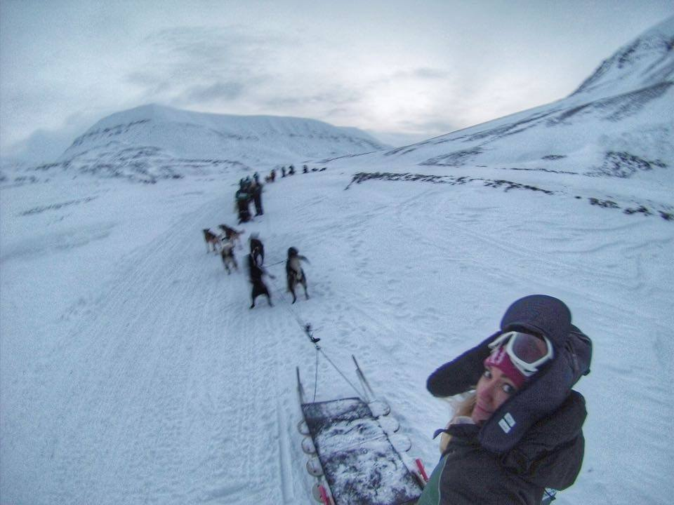 Dogsledding is like a really fun, productive way to exercise 6 dogs at once...