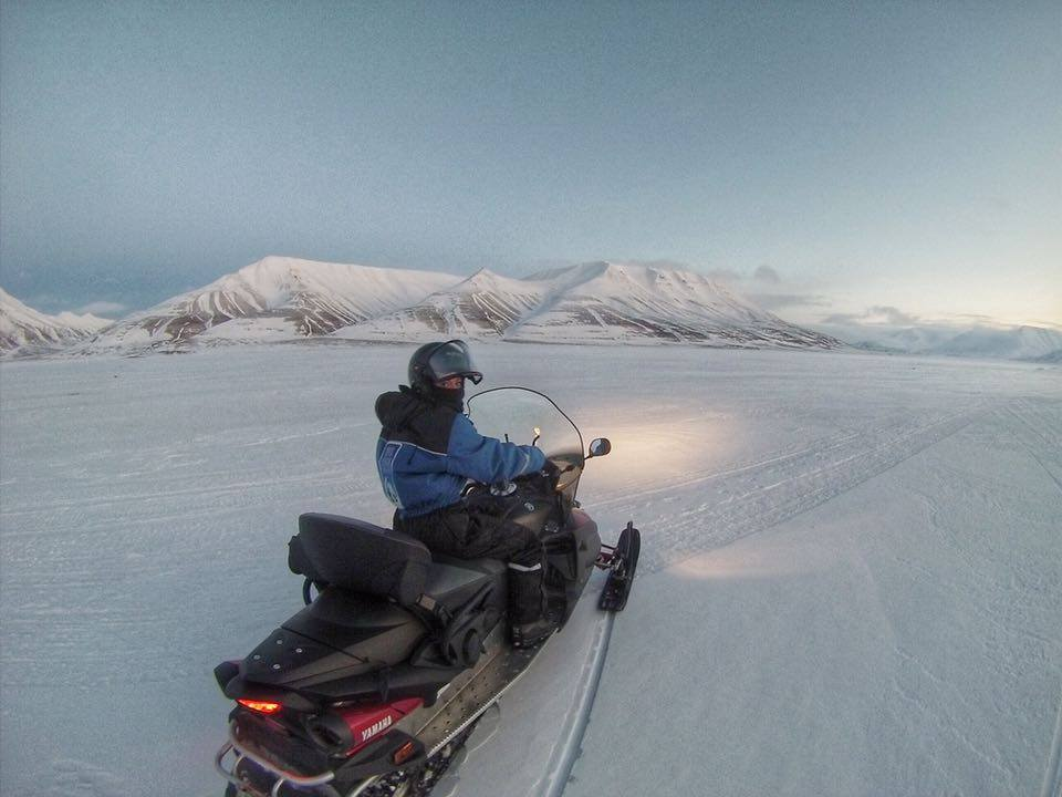 Snowmobiles are the main source of transportation, not to mention, really fun.