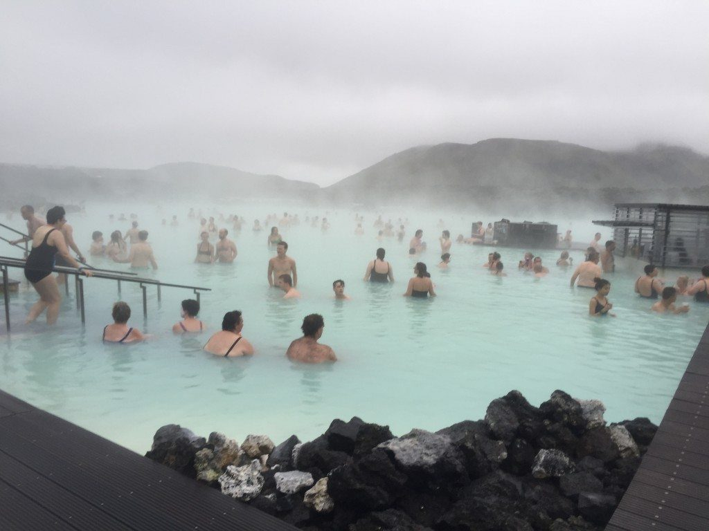 This is what the Blue Lagoon usually looks like...but can you blame them?