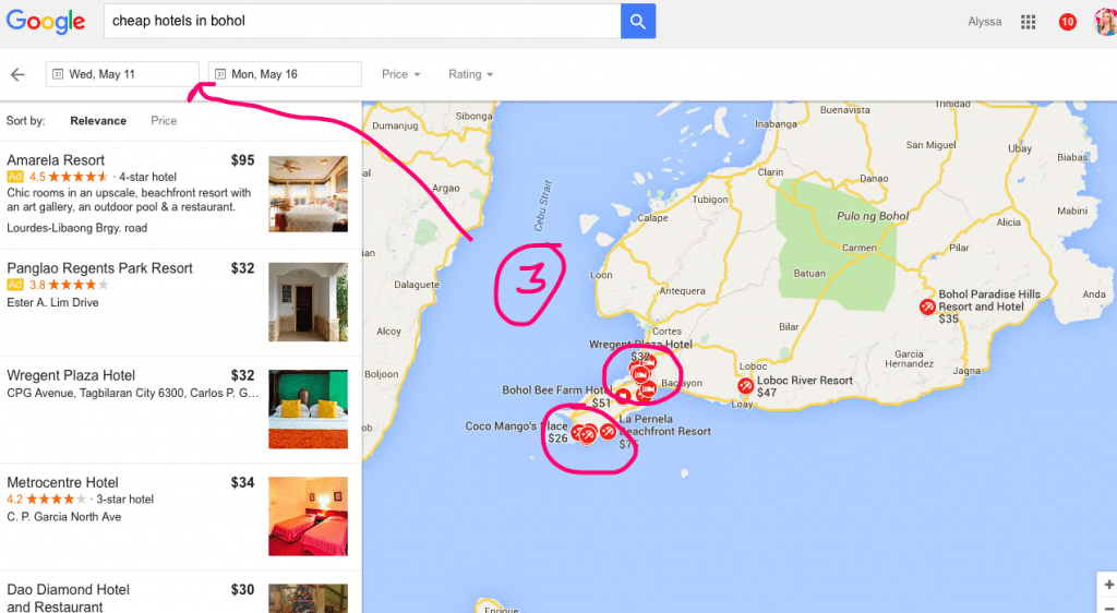How to find the Cheapest Hotels using Google MyLifesAMovie.com 1