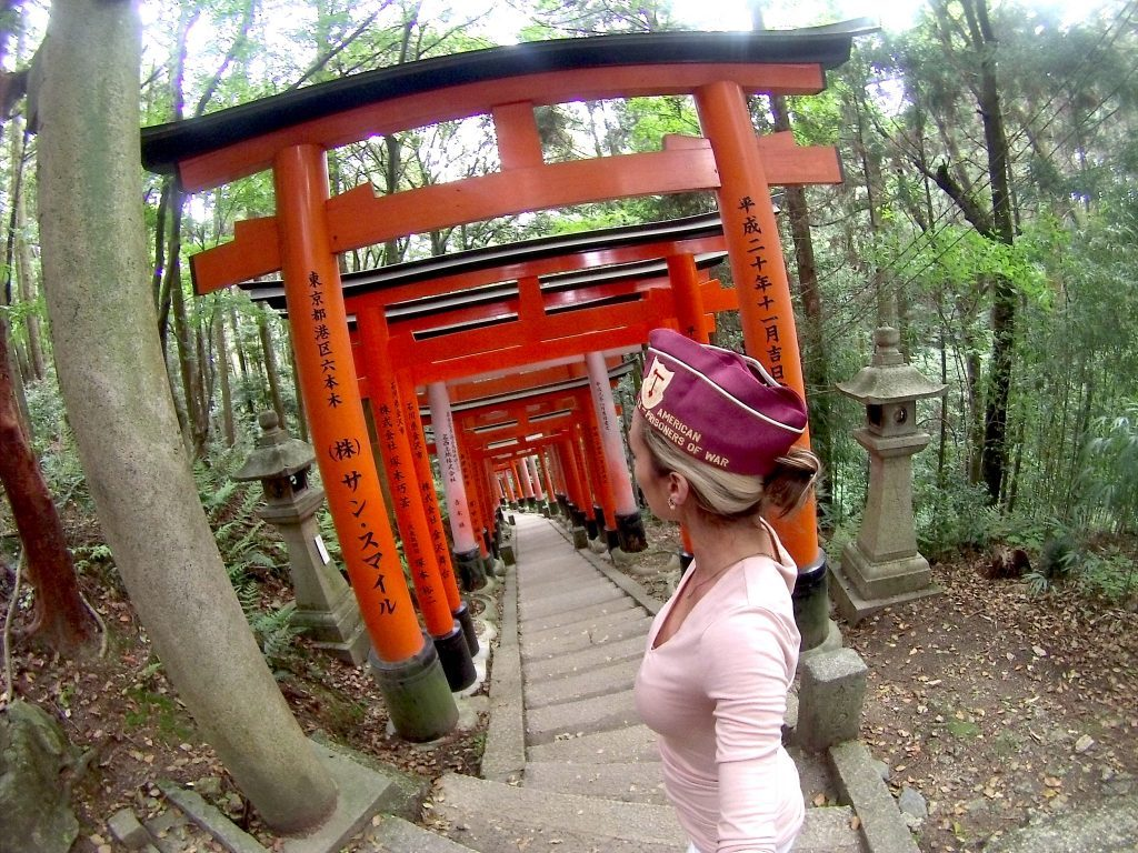 Fushimi Inari Shrine Kyoto Japan memorial day mylifesamovie.com