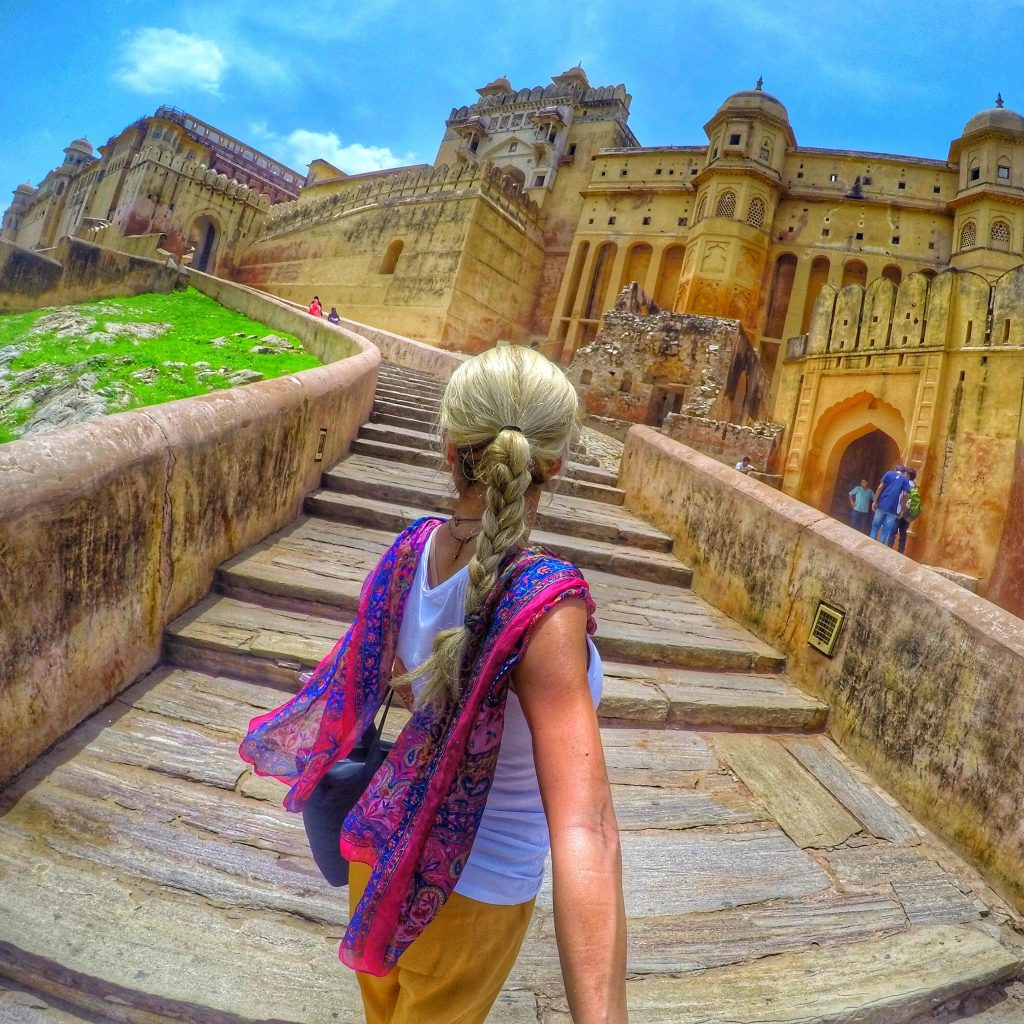 The Amber Fort in Jaipur