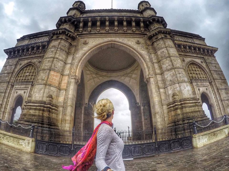 The Gateway of India during Monsoon Season in Mumbai