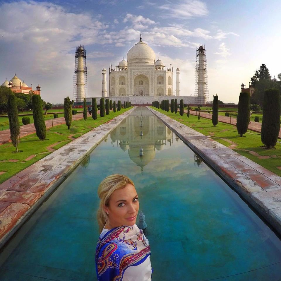 Of course...the Taj Mahal...