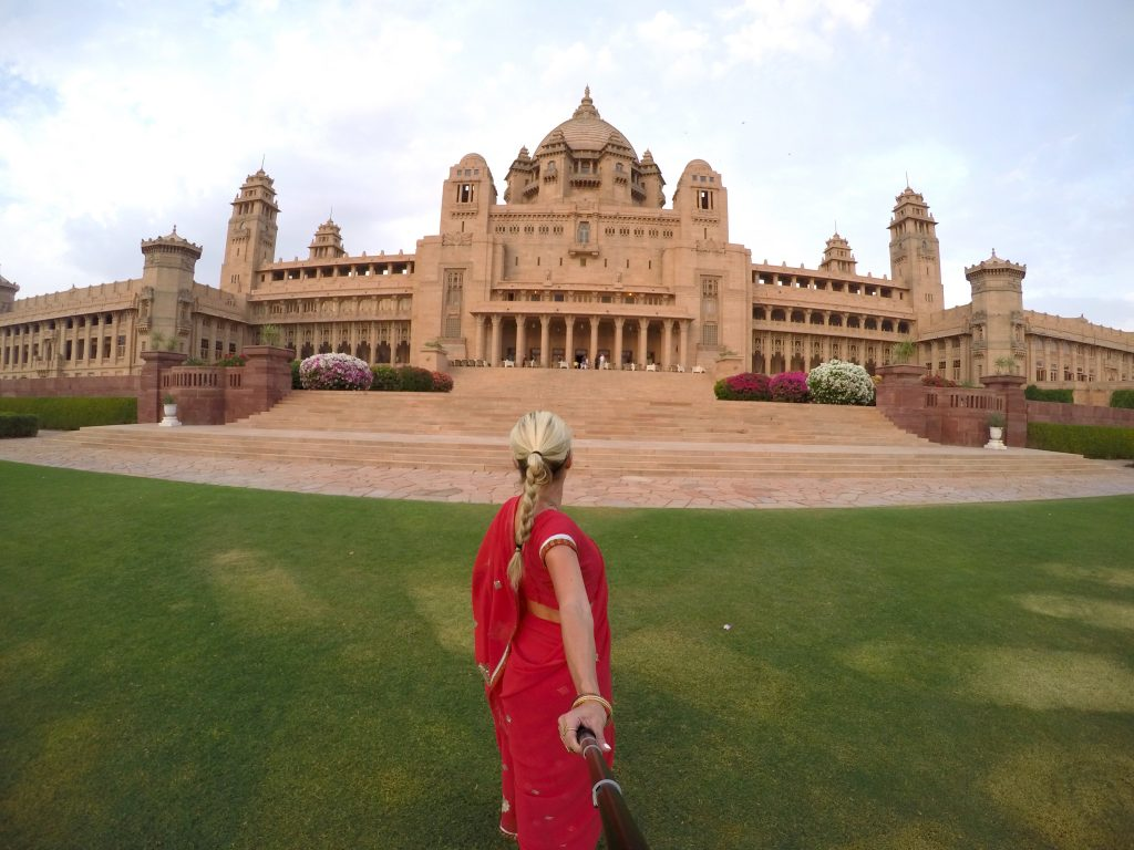 The Umaid Bhawan Palace in Jodhpur, still home to the Royal Family, and also voted the Best Hotel in the World by TripAdvisor