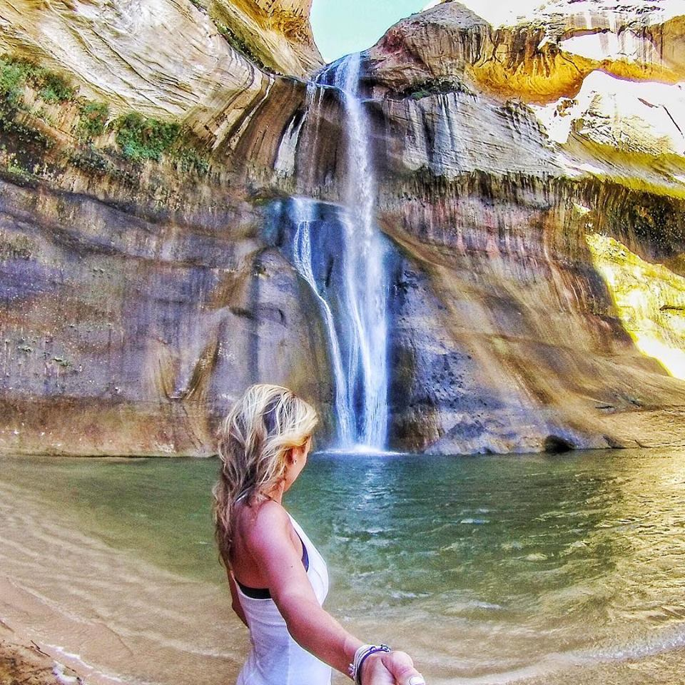 How to Stay Fit While Traveling hike to waterfalls mylifesamovie.com