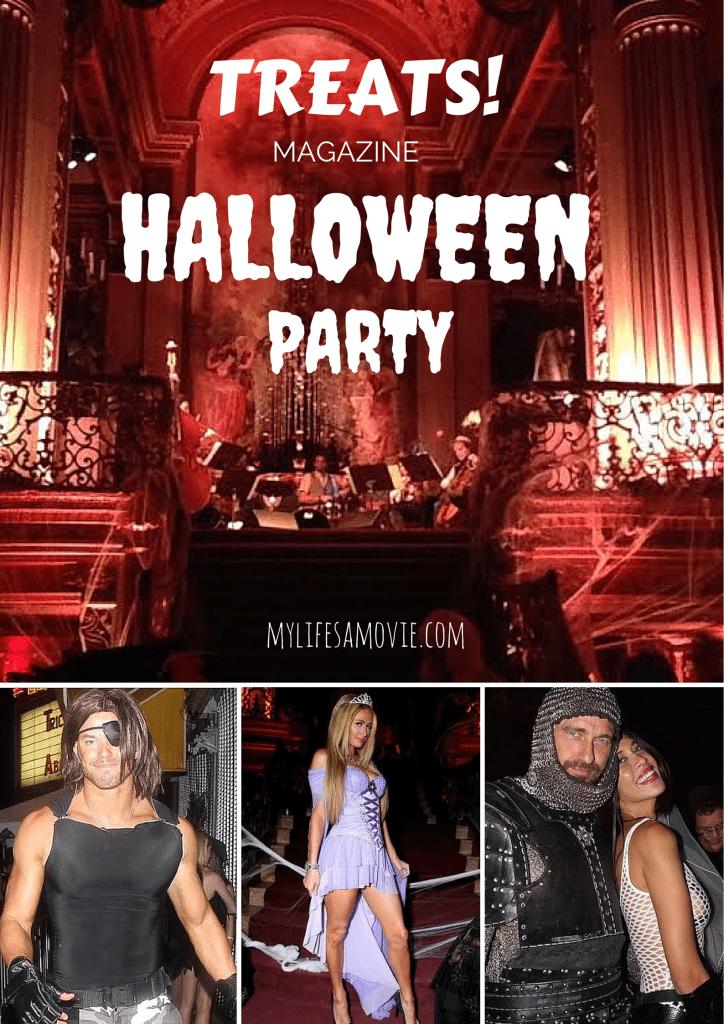 Treats Magazine Halloween Party 2014