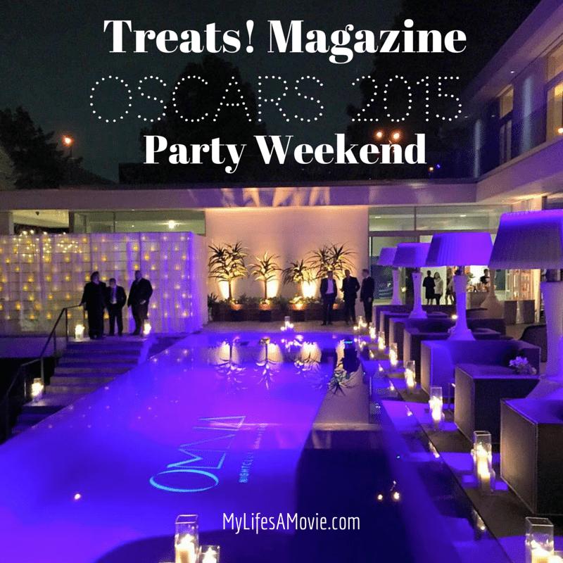 Treats! Magazine Oscars 2015 Party Weekend