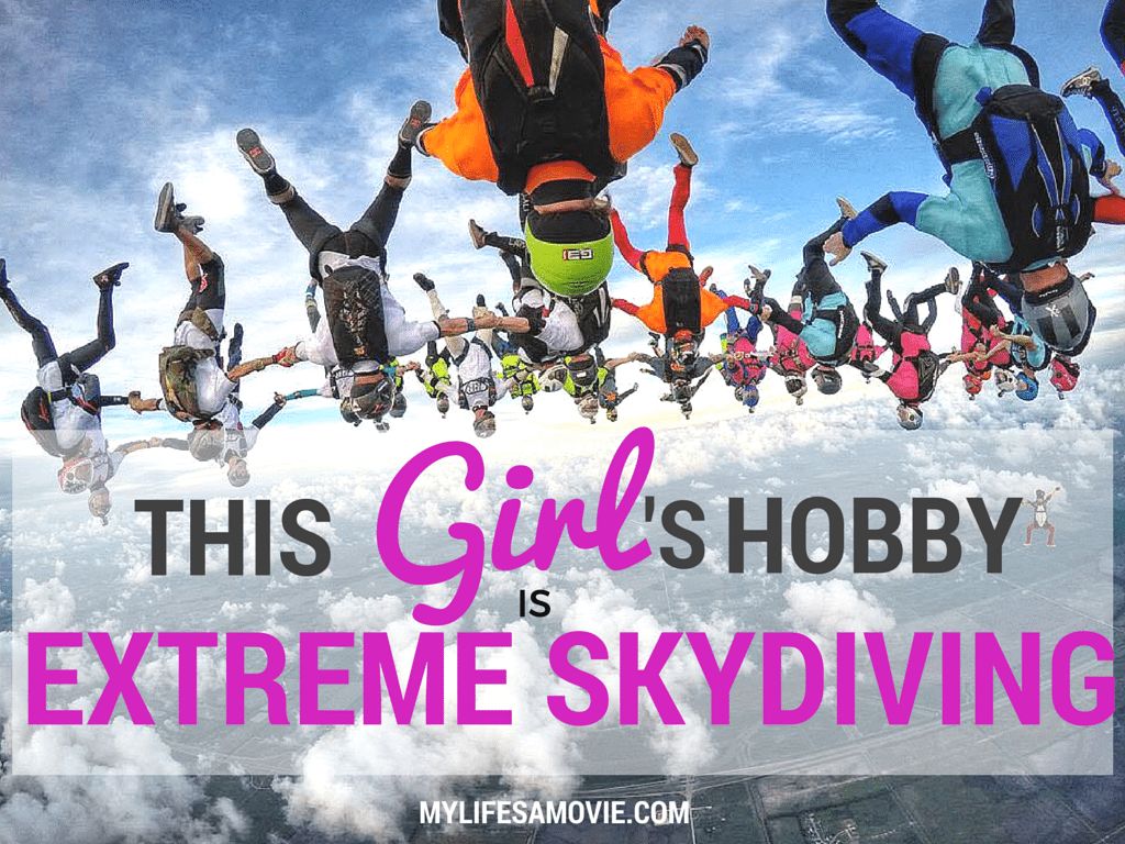 This Girl's Hobby is Extreme Skydiving