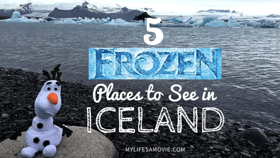 """5 """"Frozen"""" Places to See in Iceland"""