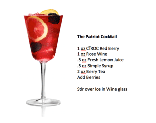 Red, White, & Blue Cocktails for the Fourth of July!
