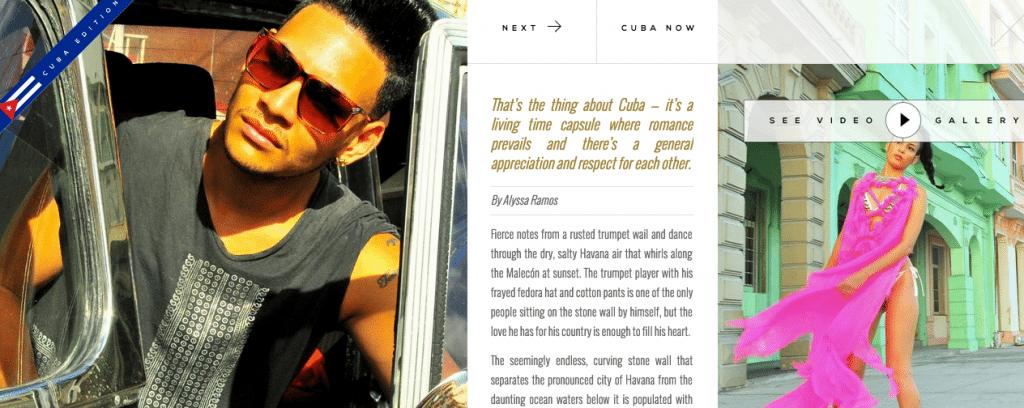 """Cuba Now"" - My Editorial in Geo Chic Magazine"