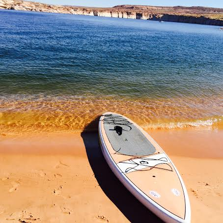 Lake Powell Paddleboards is located in Page, just 20 minutes from Lake Powell