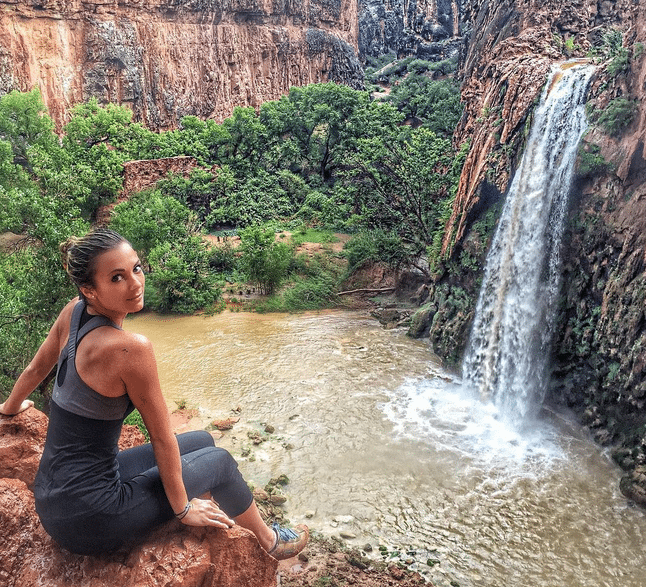 Havasu Falls ... after it rained...