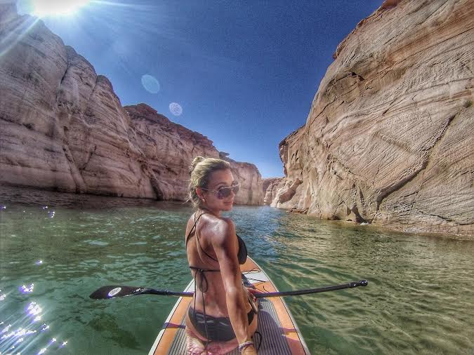 Lake Powell Paddleboards was a GREAT idea