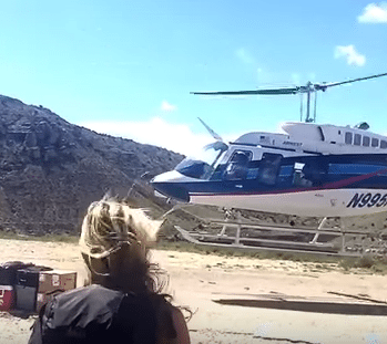 The helicopter is only $80 each way and gets you there in 10 minutes instead of 4 hours.
