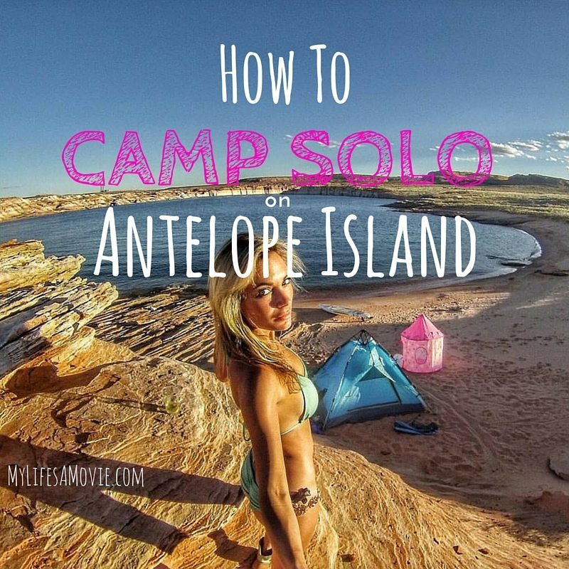 How to Camp Solo on Antelope Island