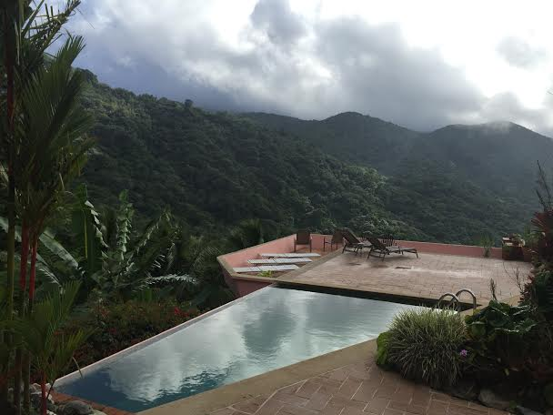 Casa Flamboyant has an infinity pool over the rainforest. That is all.
