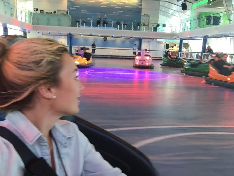 """I was playing """"Dash Car""""...the UK version where you run instead of bump into people.."""