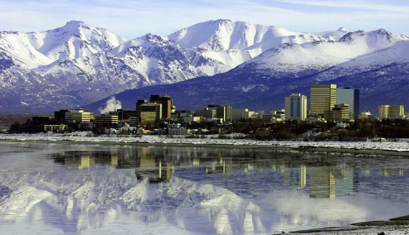 How cool would it be to go to Alaska? Well, cold I guess..
