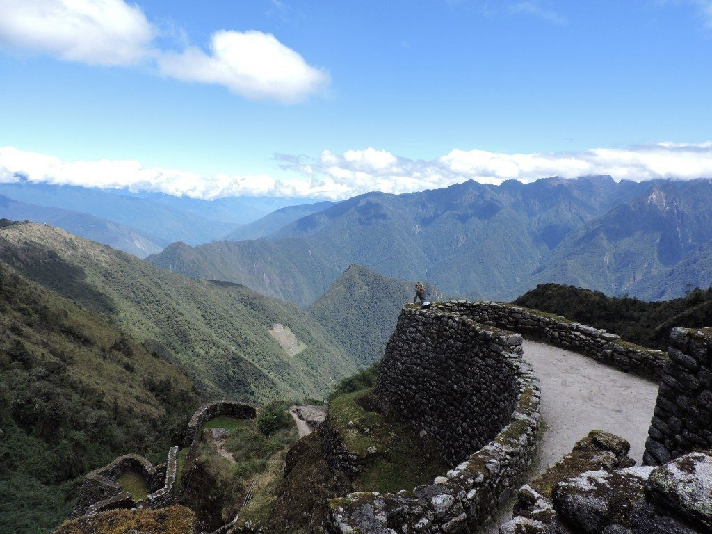 You'll only see this site during the 2nd day of the Inca Trail hike!