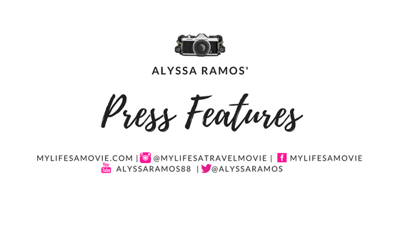 Alyssa Ramos Press Features mylifesamovie.com