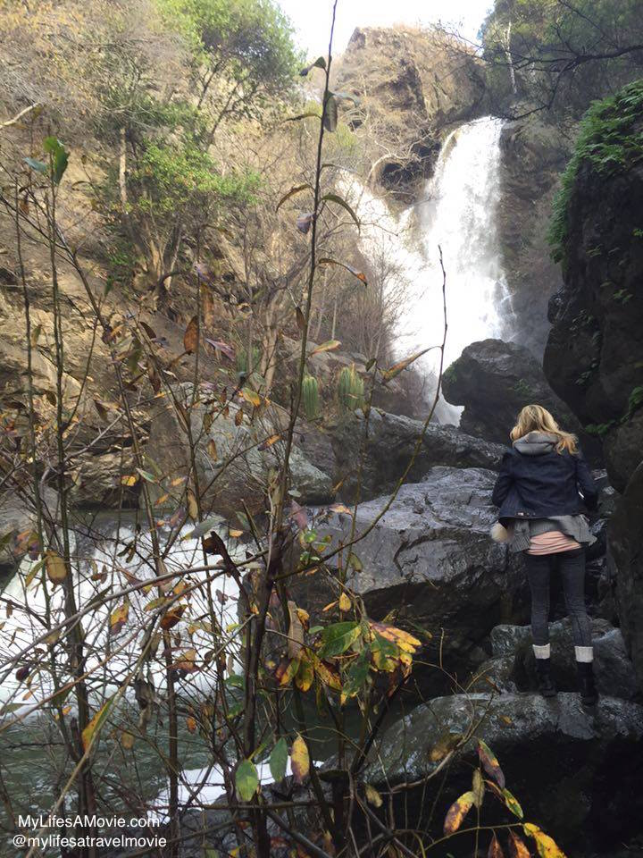 Salmon Creek Falls, a short hike on the way to Big Sur
