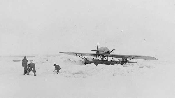 Roald Amundsen's polar expedition plane. Photo from: jacekproniewicz.com