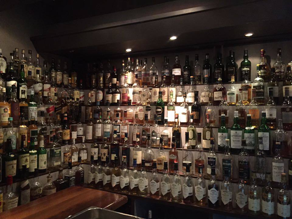Northernmost pub with an extremely large selection of whiskey