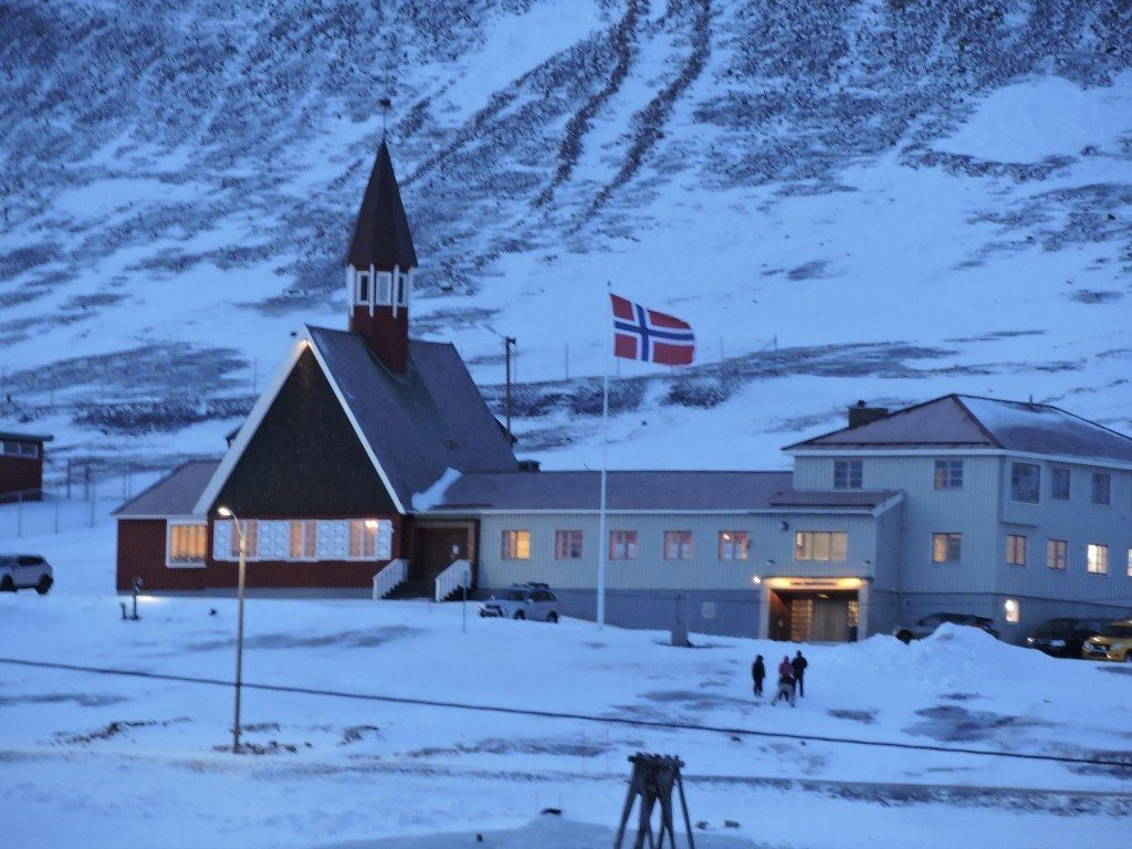 I think there's only 20 people officially buried in Svalbard...