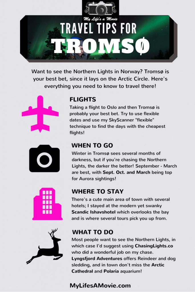 Travel Tips for Tromso MyLifesAMovie