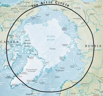 map-showing-the-artic-circle