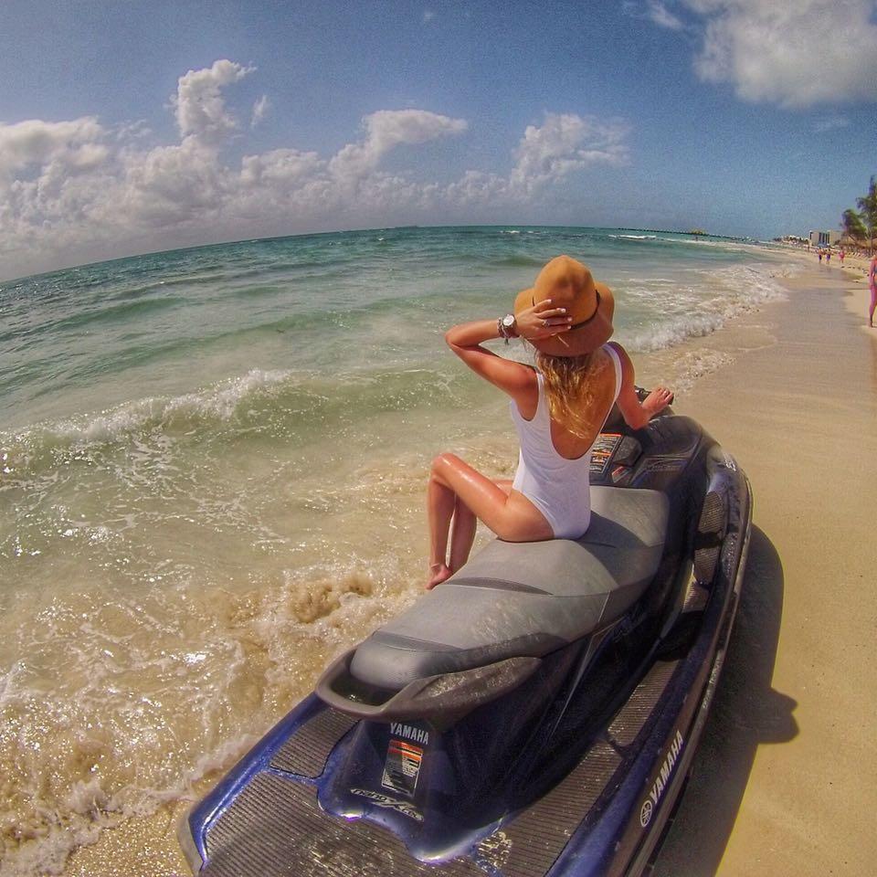 Playa del Carmen jetski MyLifesAMovie.com