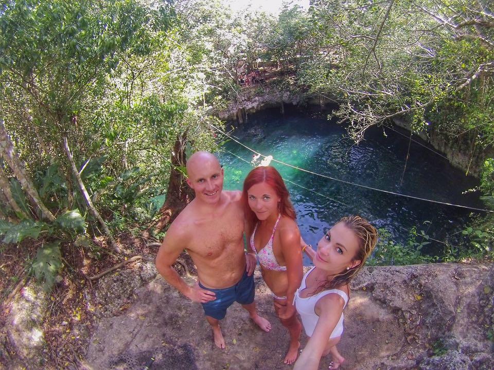 Verde Lucero Cenote group MyLifesAMovie.com