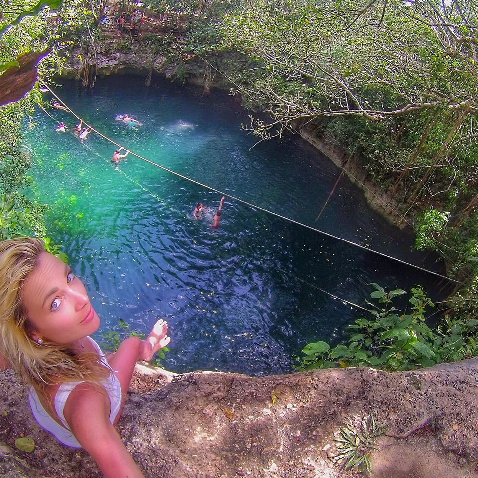 Verde Lucero cenote Playa del Carmen MylifesAMovie.com