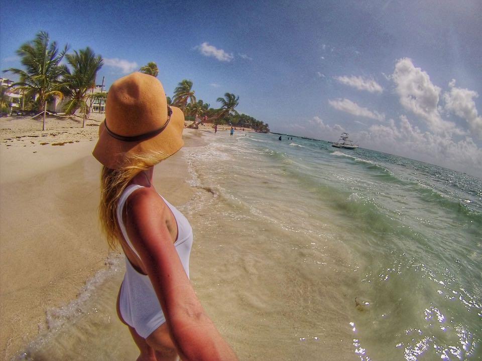 Playa del Carmen beach MyLifesAMovie.com