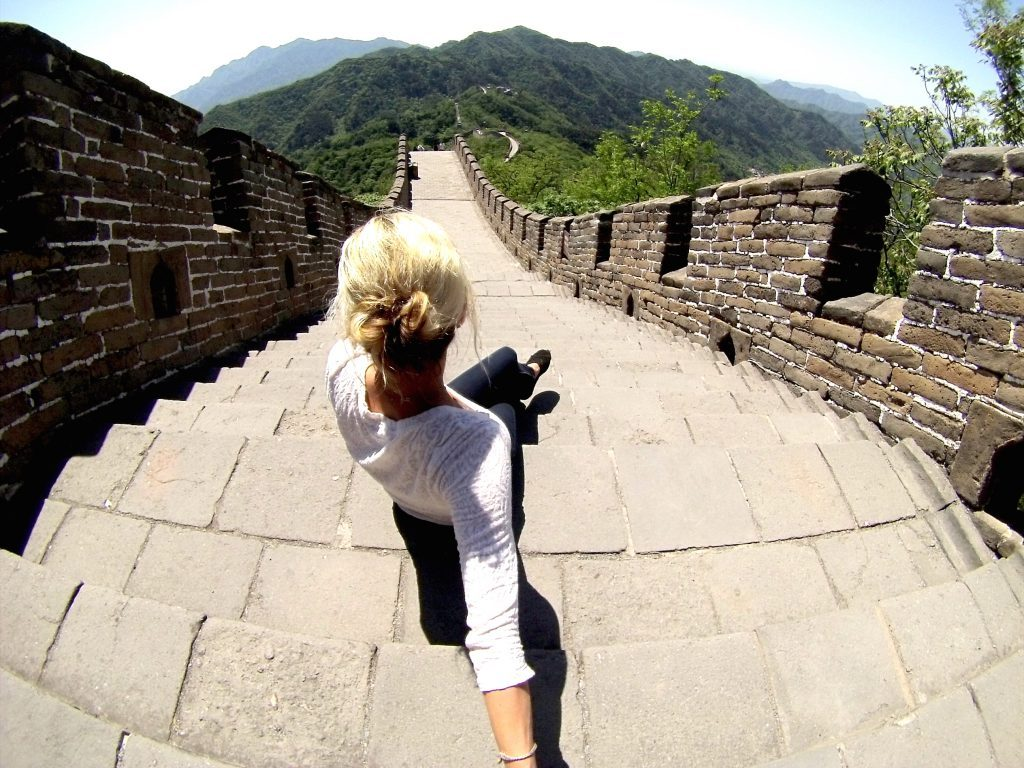 Mutianyu How to see the great wall of china when it's empty mylifesamovie.com